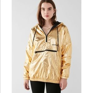 Adidas originals gold windbreaker